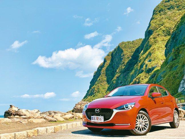 New MAZDA2是近期值得入主的都會精品掀背小車。 圖/陳志光