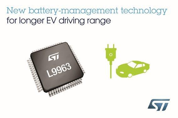 意法半導體公布電動汽車能源管理創新的最新成果,讓汽車出行變得更環保、更安全。...