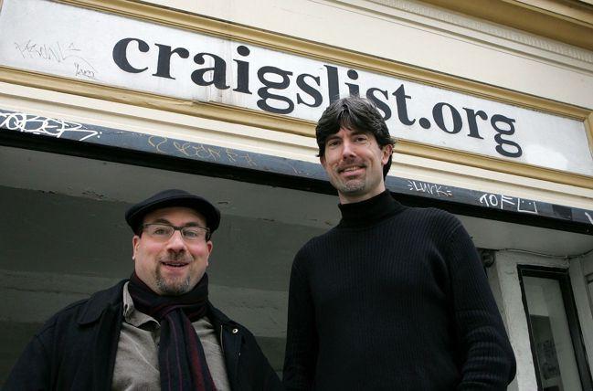 Craigslist成立25年,一直堅持非主流的經營理念。圖為Craigslis...