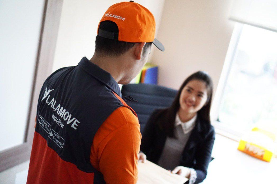 Lalamove企業用戶佔總訂單數量50%,顯示即時物流的服務受到一般消費者與企...