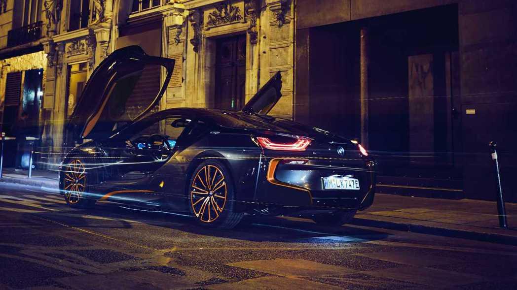 BMW i8 Ultimate Sophisto Edition。 摘自BMW