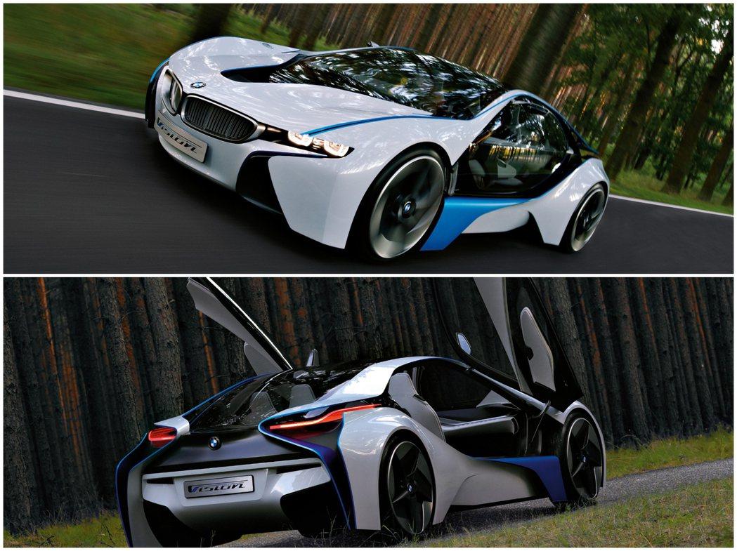 BMW Vision EfficientDynamics。 摘自BMW