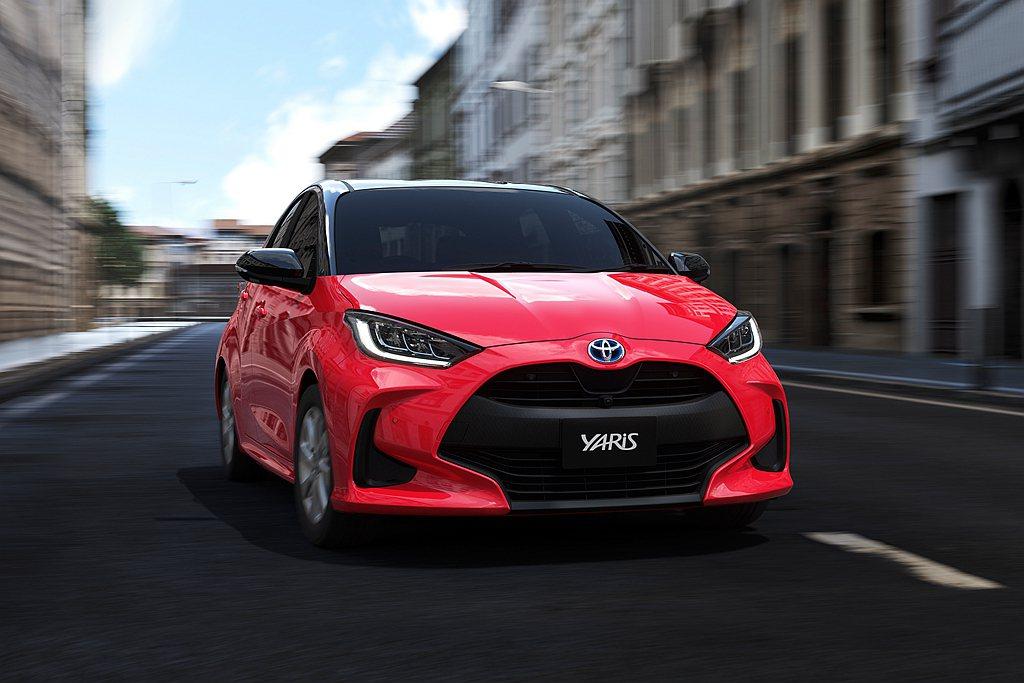 全新第四代日規Toyota Yaris,日本市場接單表現亮眼。 圖/Toyota...