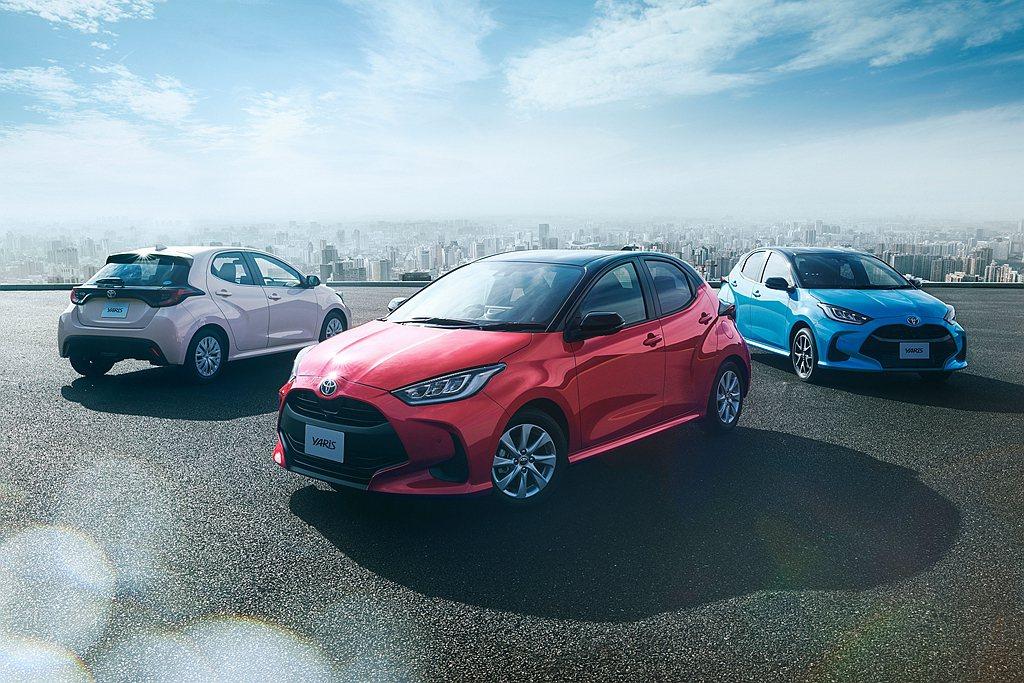 全新第四代Toyota Yaris約一個月時間共接獲37,000輛新車訂單,以原...