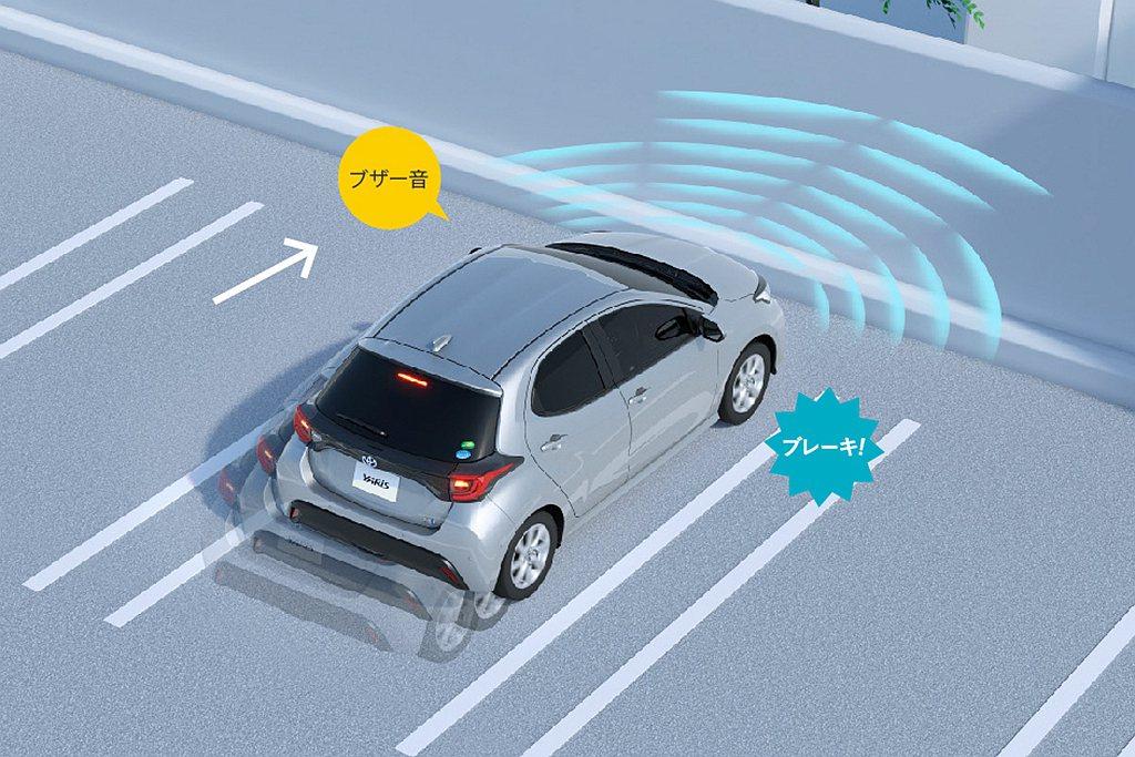 原廠提及約70%新Toyota Yaris買主加選倒車顯影系統、50%選配PKS...