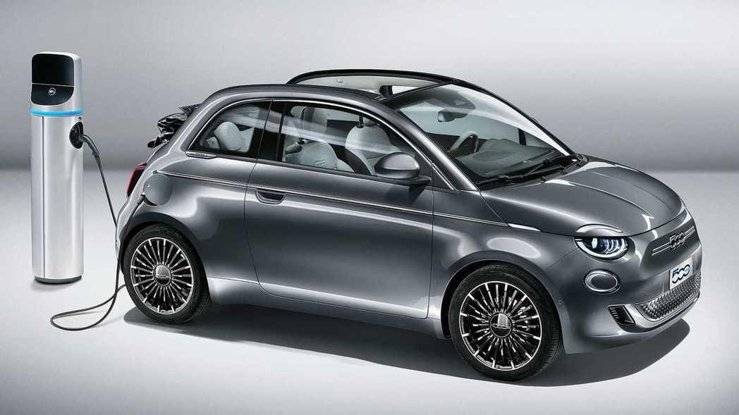 第三代Fiat 500轉換為純電動車型。 摘自Fiat