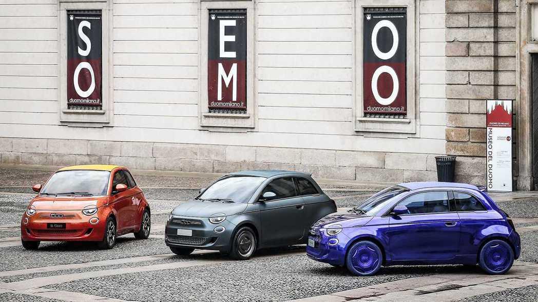 第三代Fiat 500正式發表,並且為一輛純電動小車。 摘自Fiat