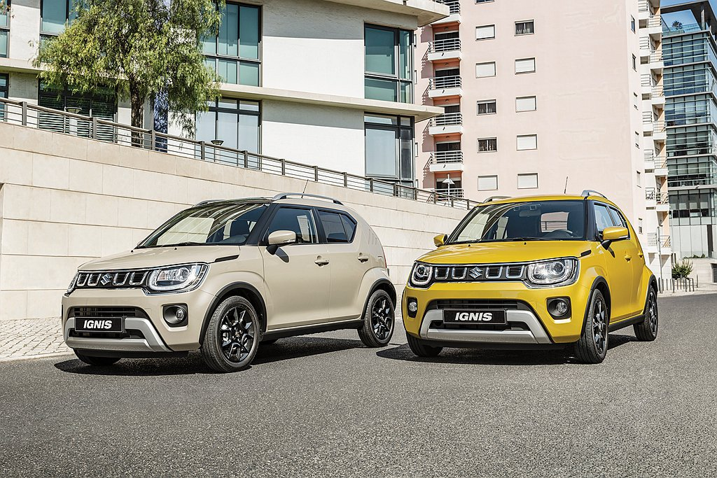 歐規小改款Suzuki Ignis登場,外觀全面SUV化。 圖/Suzuki提供