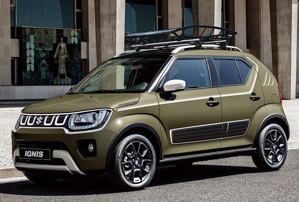 Suzuki汽車日前針對Ignis推出小改款車型,且全面看齊SUV外觀型態。 圖...
