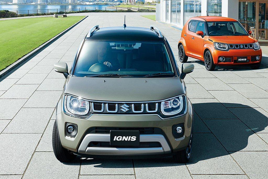日規小改款Suzuki Ignis新增MF車型,特點就是外觀更趨於休旅車型態。歐...