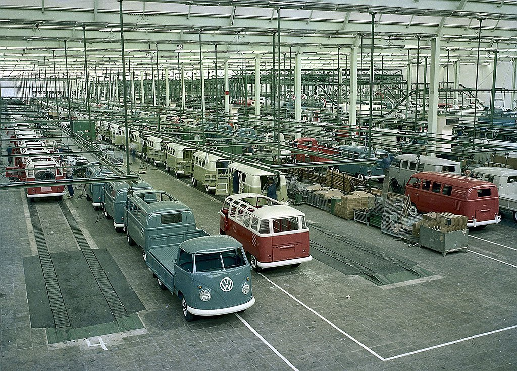 1950年3月德國福斯汽車(Volkswagen)推出第一代Transporte...