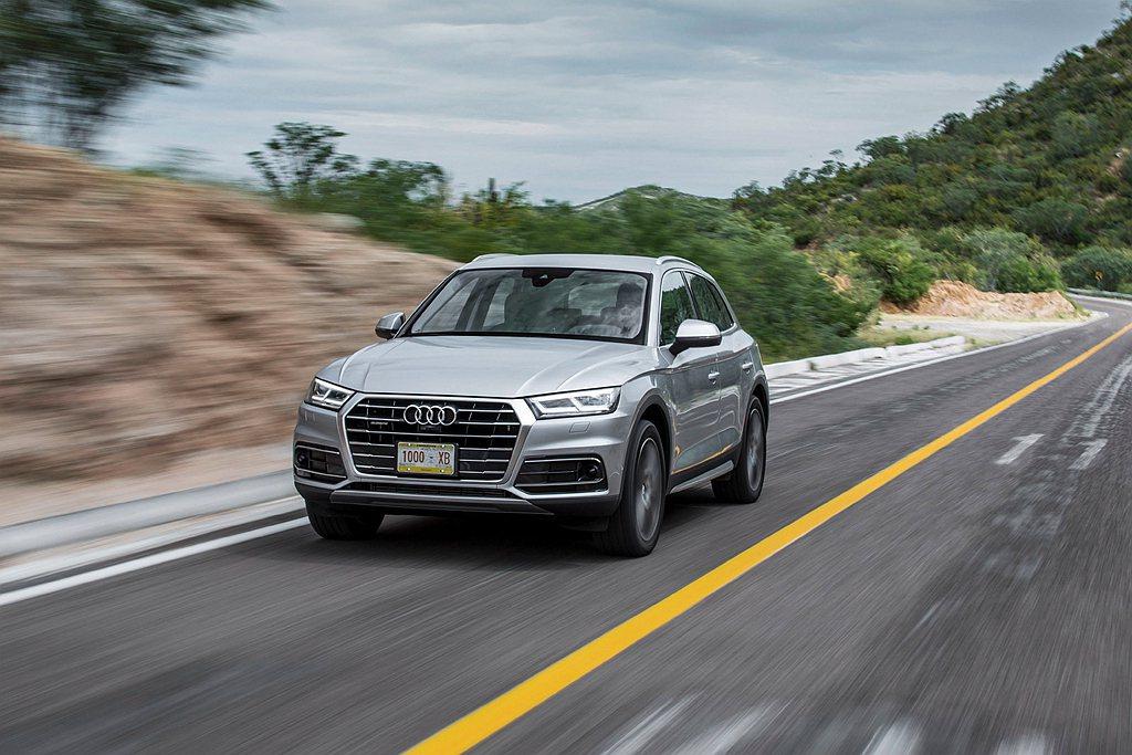 月底前入主Audi可享有多項低頭款與分期零利率等優惠。 圖/Audi提供