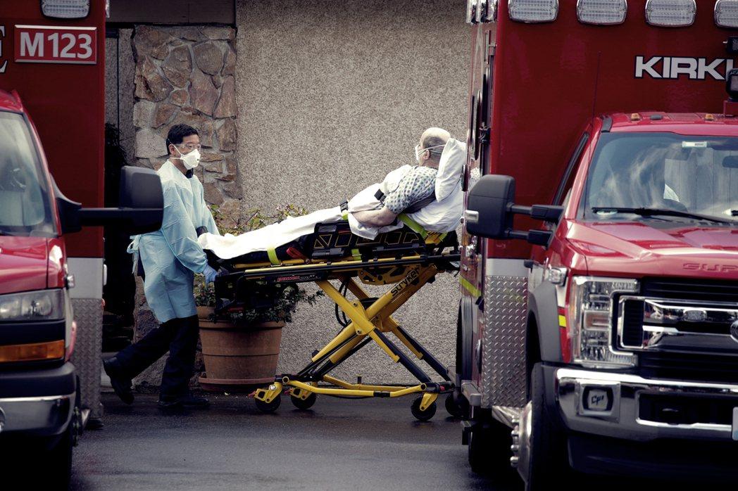 2月底在華盛頓州柯克蘭市的一間長照安養機構「人生照護中心」(Life Care ...