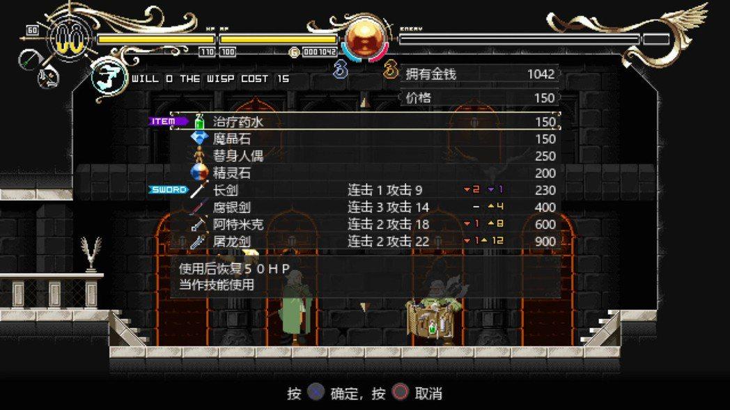 試玩版遊戲中連矮人吉姆也出場了,他負責販賣各式各樣對冒險有用的道具和武器。