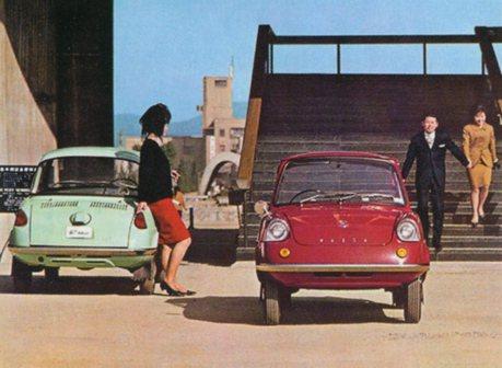 Mazda第一輛車R360只有380公斤!最初的人馬一體