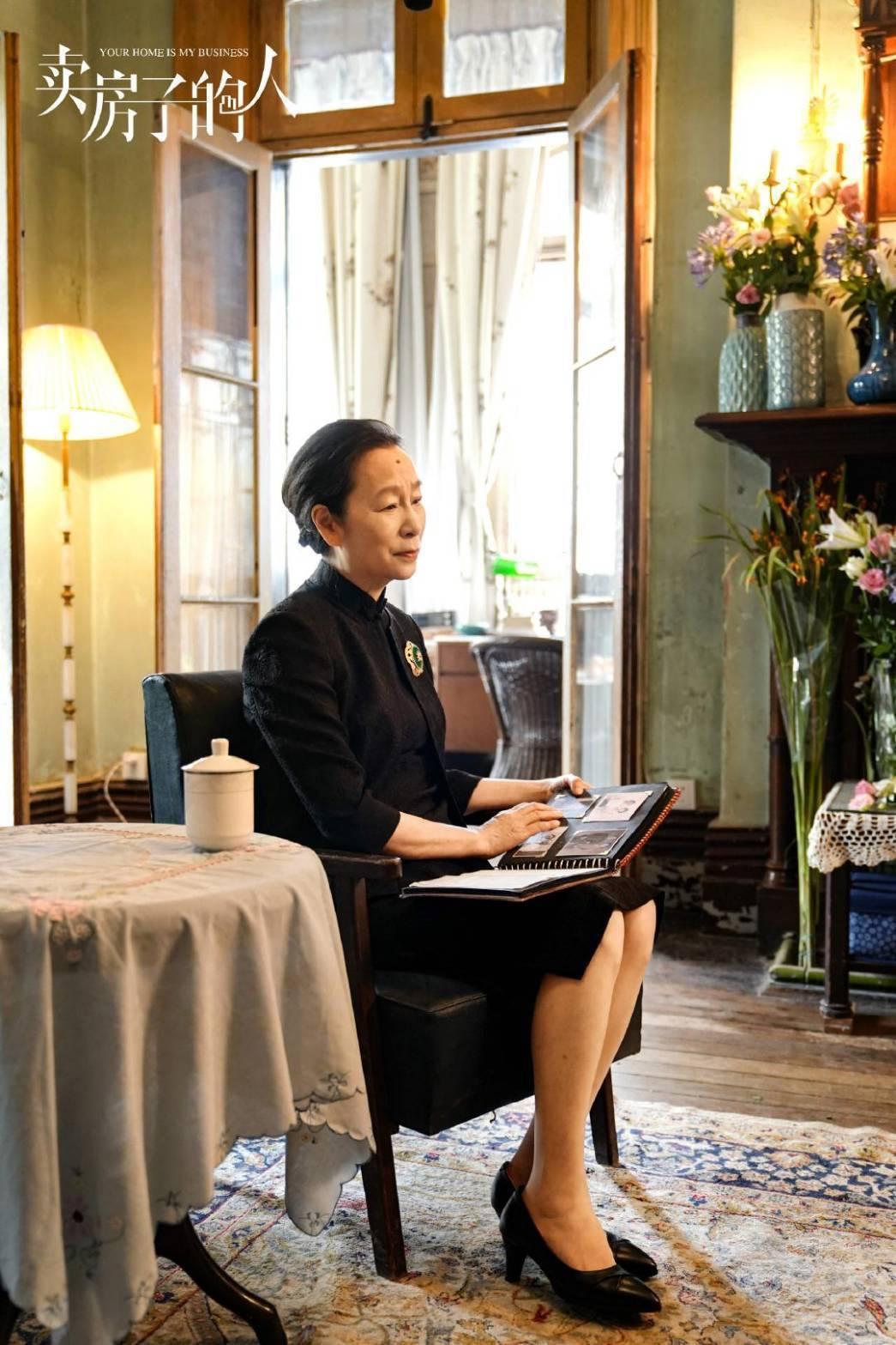 奚美娟演出「安家」演技被討論。圖/摘自微博