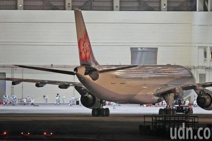 第二批武漢包機日前載送361名旅人平安返台。 圖/聯合報系資料照片