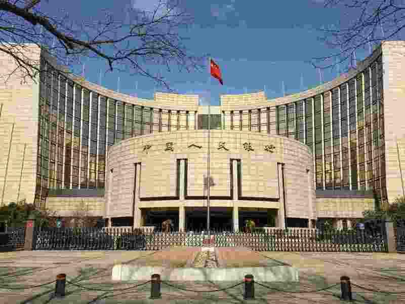 大陸央行宣布下周一降準,將釋放約新台幣2.4兆元資金。(百度)