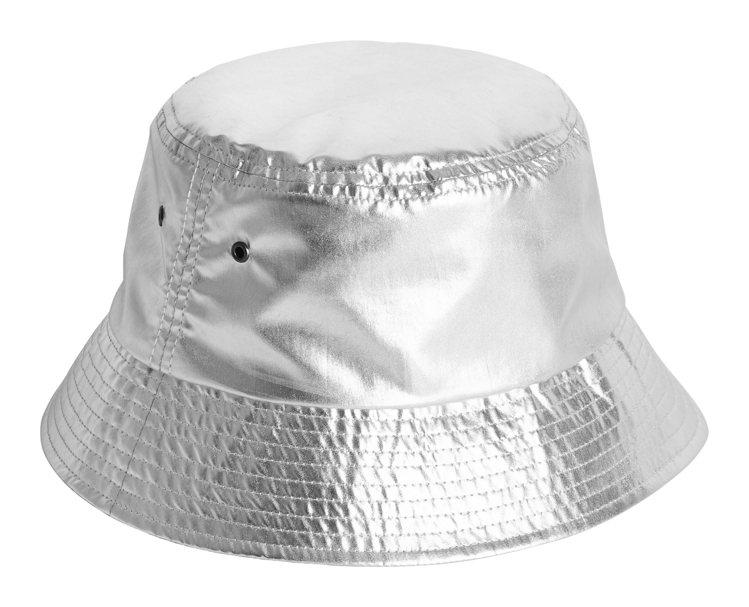 H&M的Justine Skye聯名系列漁夫帽499元。圖/H&...