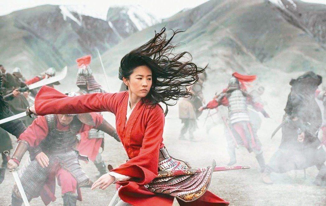 「花木蘭」原本僅延後亞洲國家的上映檔期,現今連美國上映檔期也宣告延後。圖/迪士尼