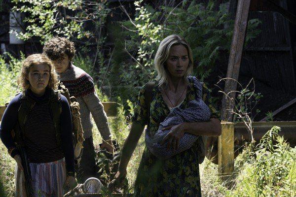 艾蜜莉布朗主演賣座恐怖片續集「噤界II」宣告延期。圖/UIP提供