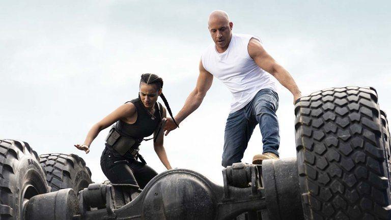 「玩命關頭9」延期1年,男主角兼製片馮迪索出面向觀眾致歉。圖/UIP提供