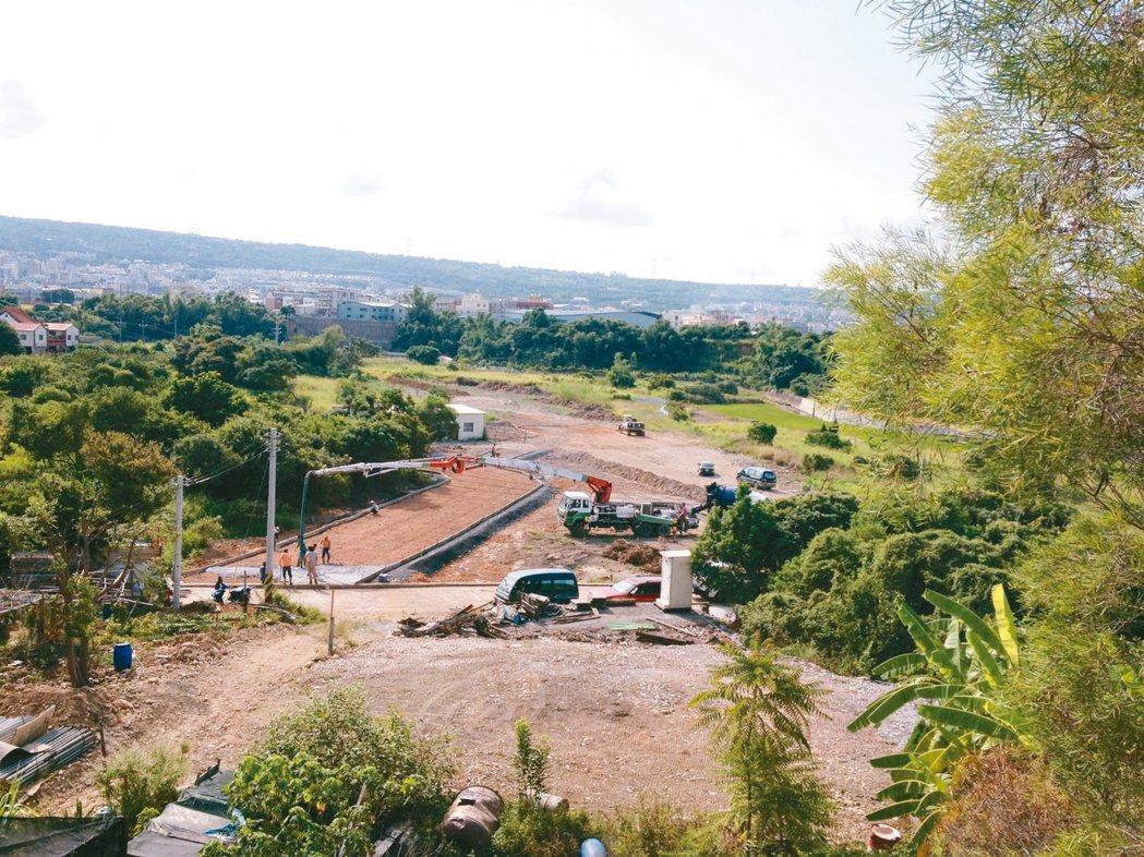 在6年前,聚落所在地還是一片荒蕪。 圖╱好好聚落提供