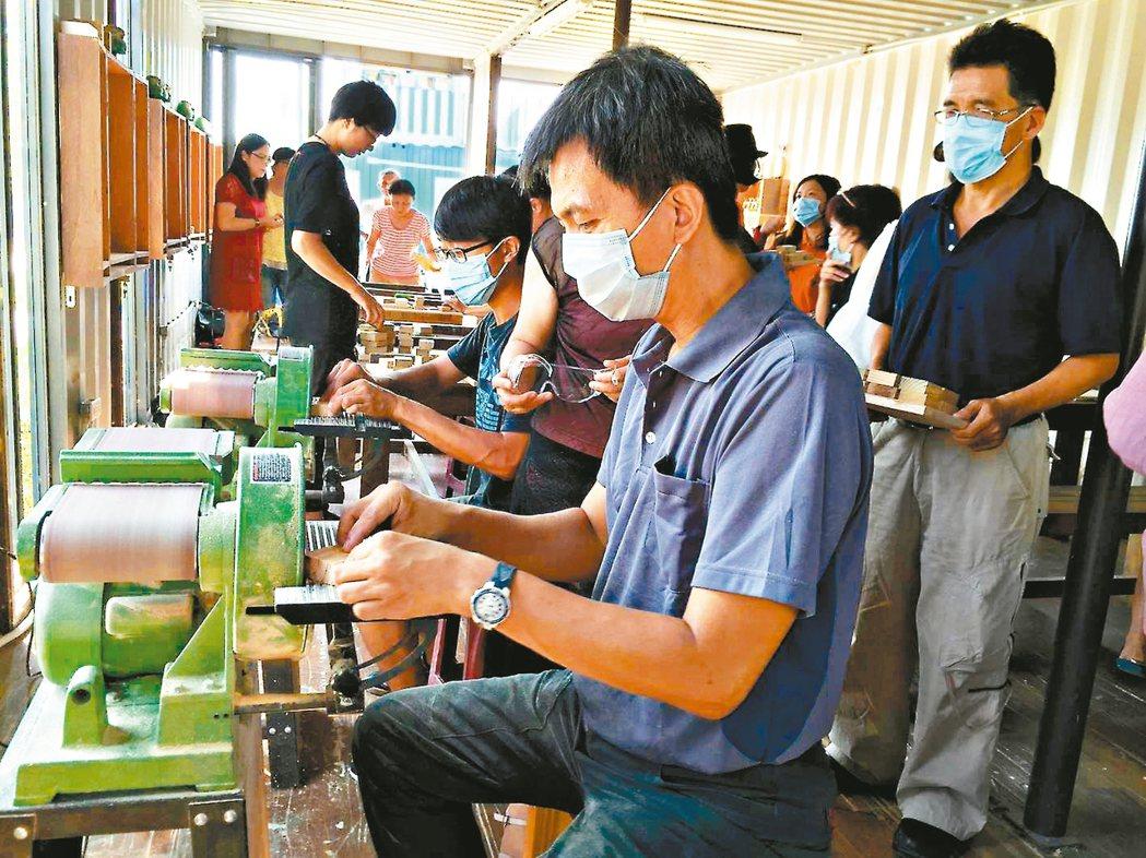 好好聚落裡的木工坊會不定期推出木工課程。 圖╱好好聚落提供