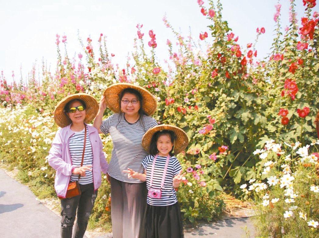 祖孫三代一起到彰化旅行,歡笑一整天! 圖/Ru Yin提供