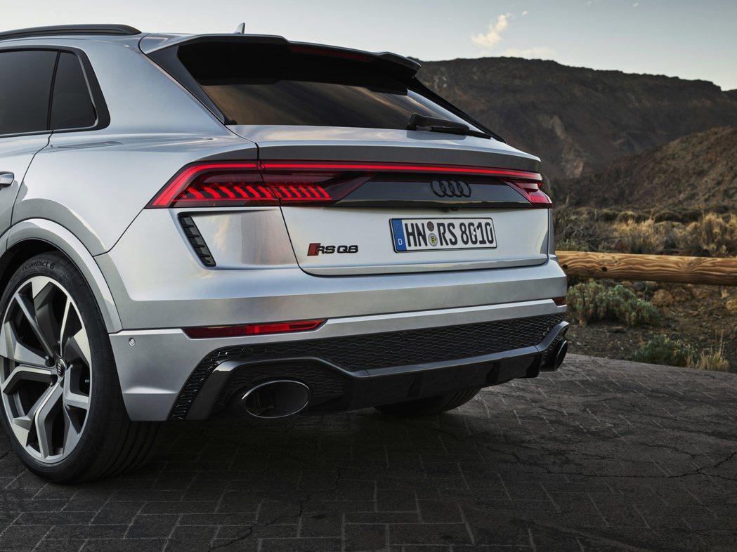 Audi RS Q8去年底發表後成為品牌現今最強休旅。 摘自Audi