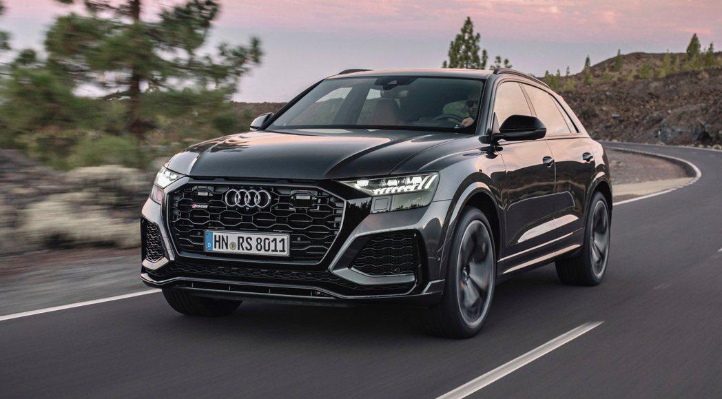 Audi RS Q8現於美國販售中。 摘自Audi