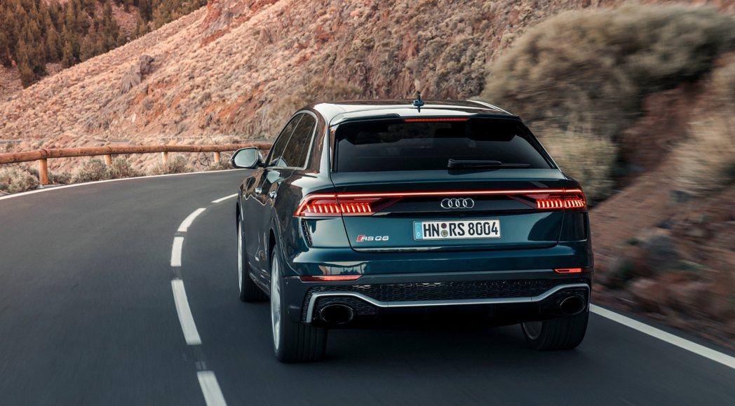 Audi RS Q8。 摘自Audi