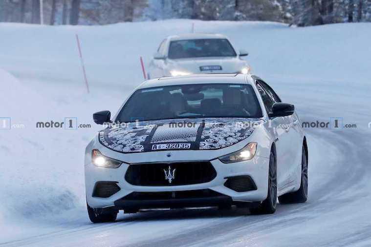 二度小改款的Maserati Ghibli 油電動力成最大亮點