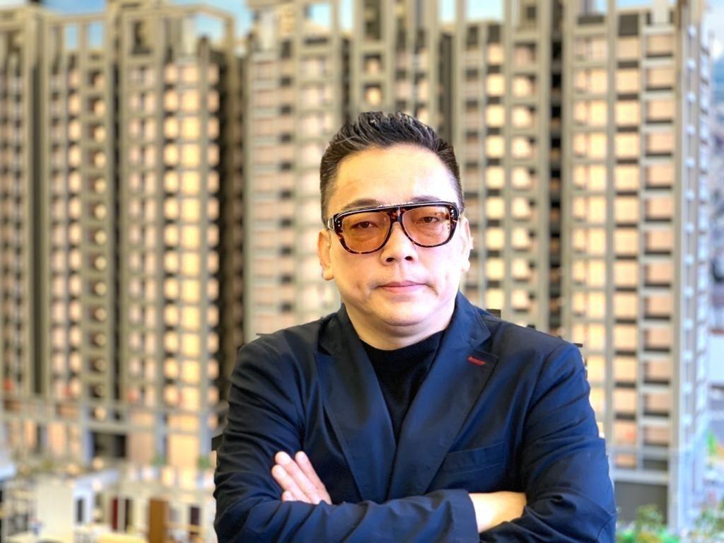 詹惟中說,房市會不會跌,就看下個月了。圖/禪定的居提供