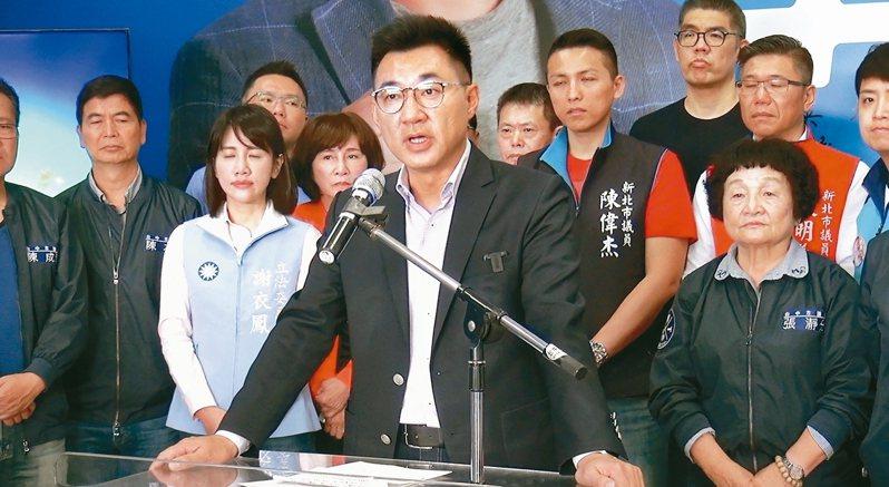 國民黨主席江啟臣。 聯合報系資料照片