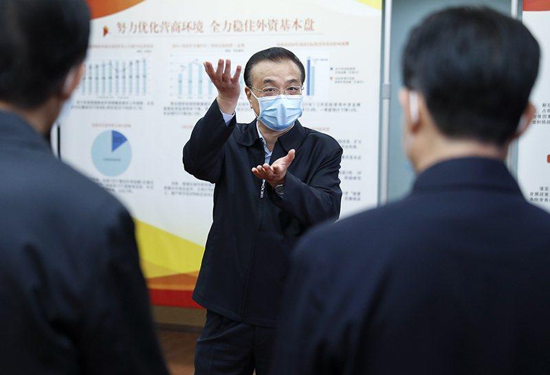 大陸國務院總理李克強。圖/中國政府網