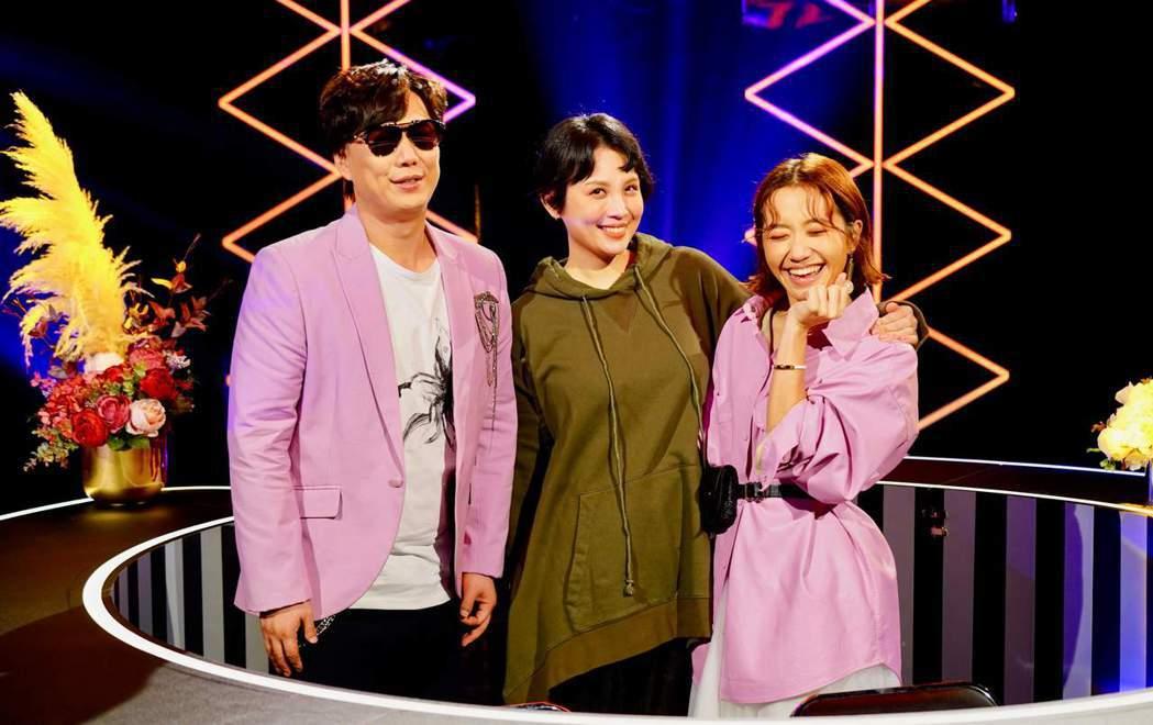 Lulu和魏如萱原本就是姊妹淘。圖/華視提供