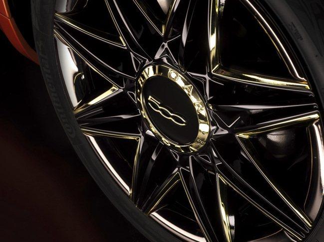 B.500 By BVLGARI輪圈金色光芒來自寶格麗八芒星圖騰。圖/寶格麗提供