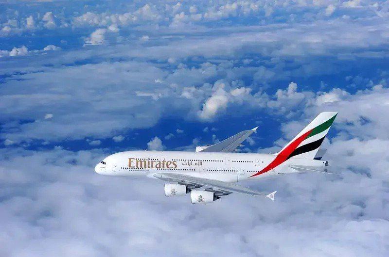 阿聯酋航空官網已把今起台北-杜拜航班全數拉掉。圖/阿聯酋提供
