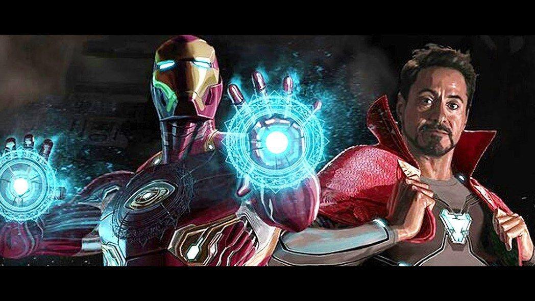 奇異博士穿上鋼鐵人的戰甲。圖/摘自IG