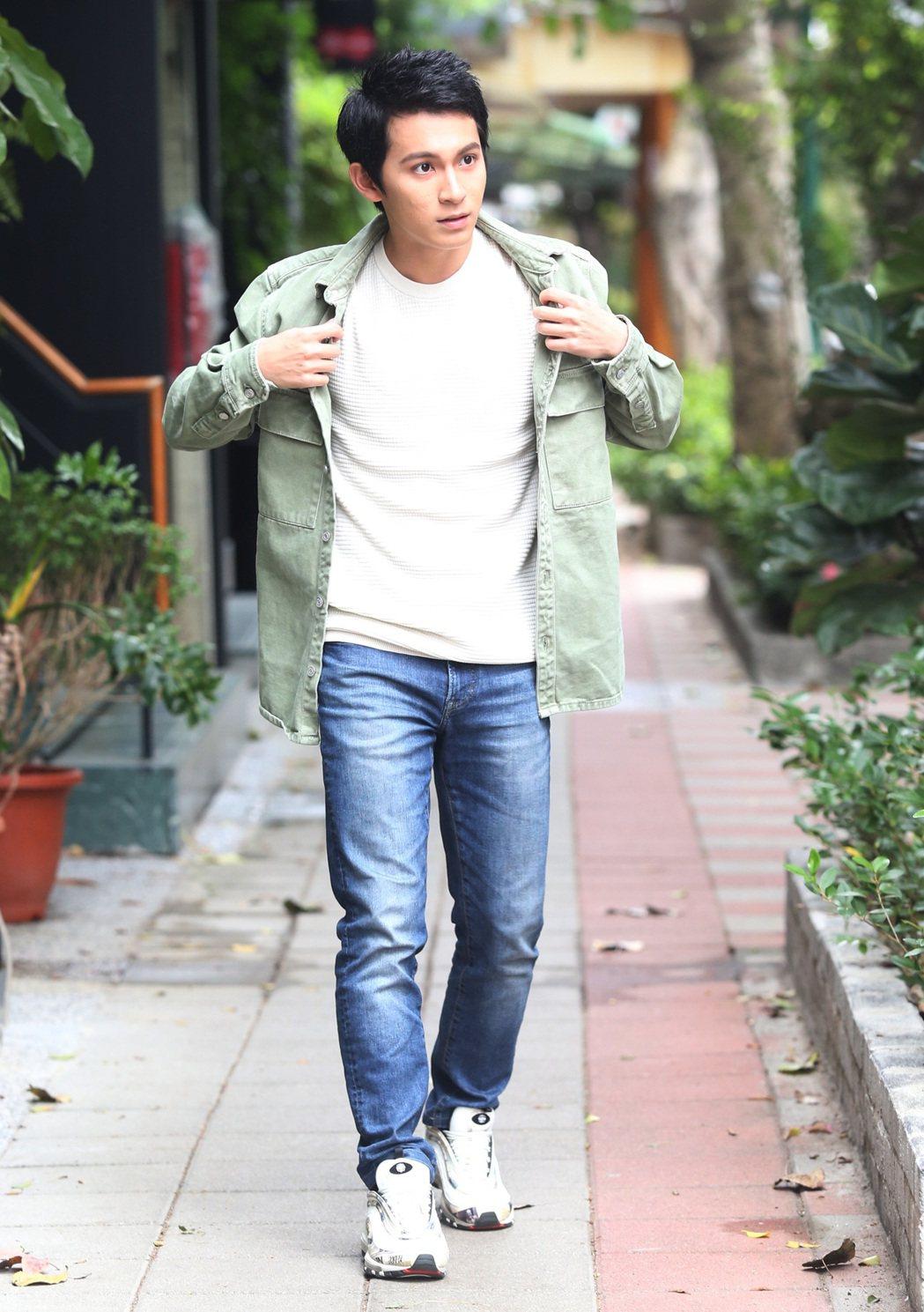 林暉閔演出電影「星空」出道,如今已22歲、即將大學畢業。記者林俊良/攝影