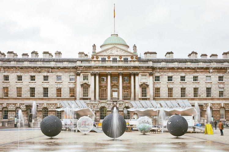 2017年TRASHPRESSO走進倫敦設計周。 圖/小智研發提供