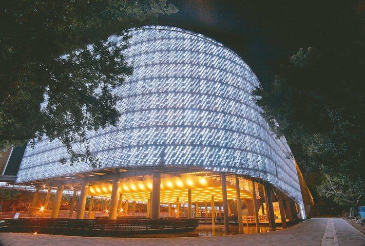 台北花博園區的「環生方舟」讓黃謙智在台灣獲得注目。 圖/小智研發提供