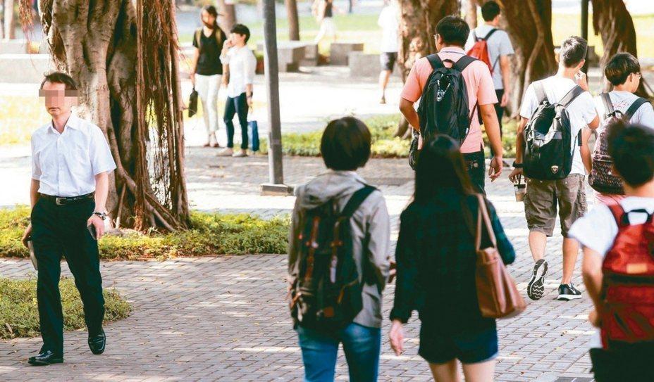 逾一萬名陸港澳學位生未返台,有私立大學說,不少人只繳部分學分費,衝擊私校財務。 圖/聯合報系資料照片