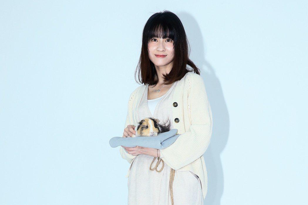 《黑喵知情》舉行媒體探班,演員連俞涵出席。記者林伯東/攝影