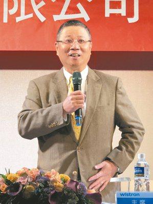 緯創董事長林憲銘 記者蕭君暉/攝影