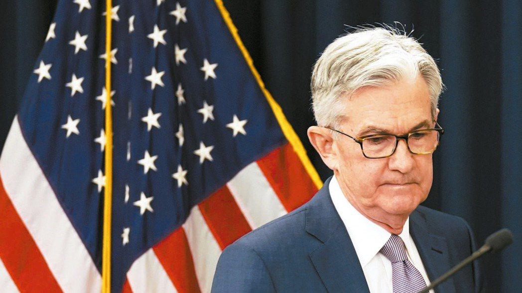 美國聯準會15日宣布降息4碼至基準利率趨近零。圖為聯準會主席鮑爾。 路透