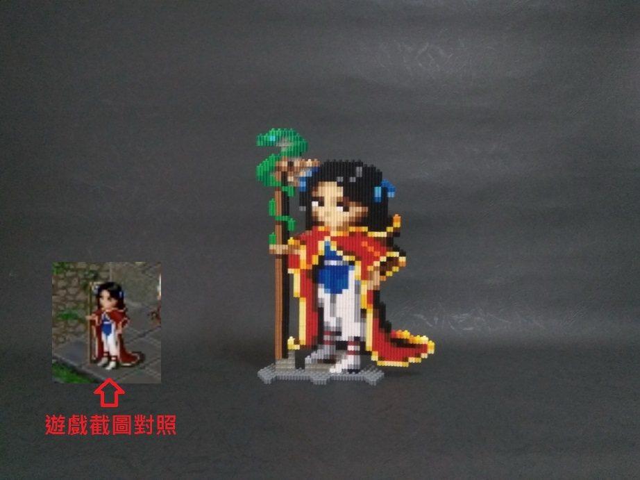 趙靈兒(聖靈披風+天蛇杖)