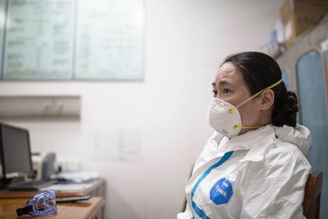 武漢中心醫院醫生艾芬。 圖/取自《人物》
