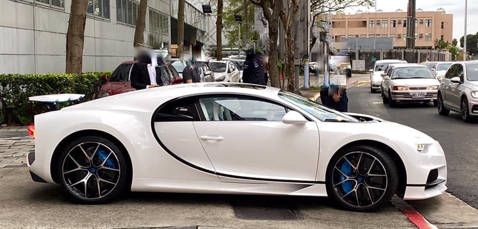 Bugatti Chiron Sport。 翻攝自蘇宗怡FB